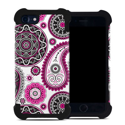 Apple iPhone 7 Bumper Case - Boho Girl Paisley