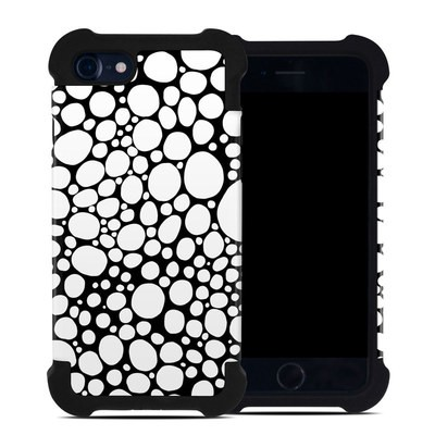 Apple iPhone 7 Bumper Case - BW Bubbles