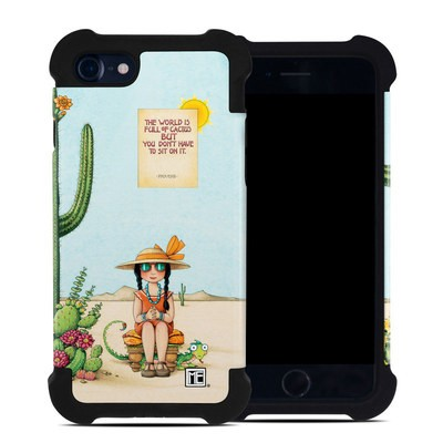 Apple iPhone 7 Bumper Case - Cactus
