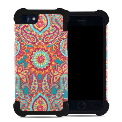Apple iPhone 7 Bumper Case - Carnival Paisley