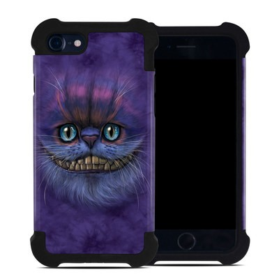 Apple iPhone 7 Bumper Case - Cheshire Grin