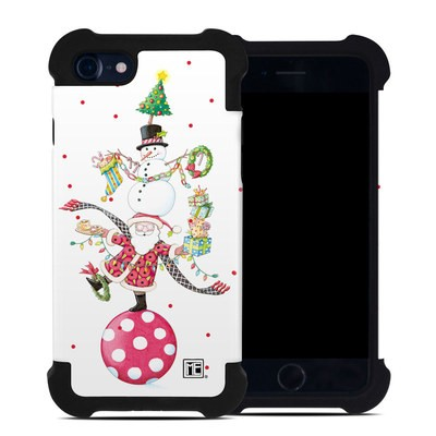 Apple iPhone 7 Bumper Case - Christmas Circus