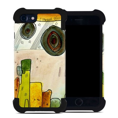 Apple iPhone 7 Bumper Case - City Life