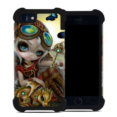 Apple iPhone 7 Bumper Case - Clockwork Dragonling