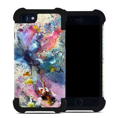Apple iPhone 7 Bumper Case - Cosmic Flower