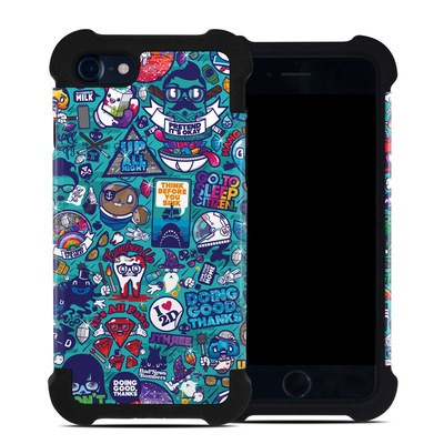 Apple iPhone 7 Bumper Case - Cosmic Ray