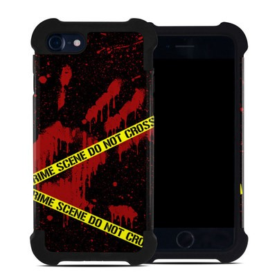 Apple iPhone 7 Bumper Case - Crime Scene