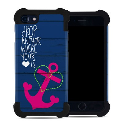 Apple iPhone 7 Bumper Case - Drop Anchor