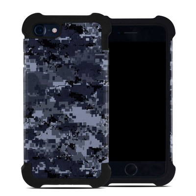 Apple iPhone 7 Bumper Case - Digital Navy Camo