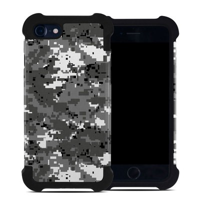 Apple iPhone 7 Bumper Case - Digital Urban Camo
