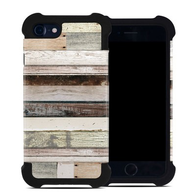 Apple iPhone 7 Bumper Case - Eclectic Wood