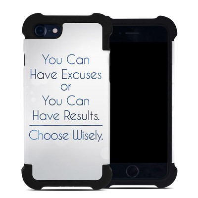 Apple iPhone 7 Bumper Case - Excuses or Results