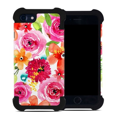 Apple iPhone 7 Bumper Case - Floral Pop