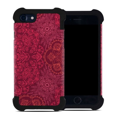 Apple iPhone 7 Bumper Case - Floral Vortex