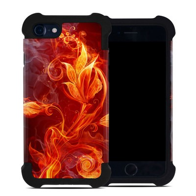 Apple iPhone 7 Bumper Case - Flower Of Fire