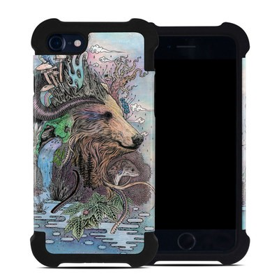 Apple iPhone 7 Bumper Case - Forest Warden