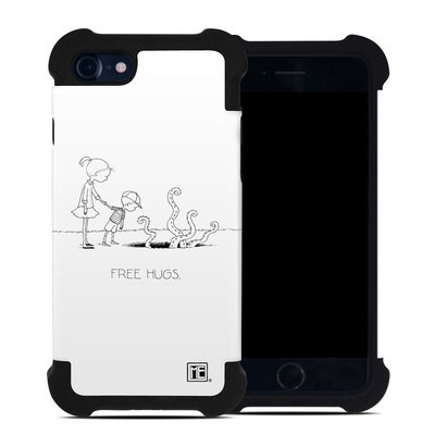 Apple iPhone 7 Bumper Case - Free Hugs