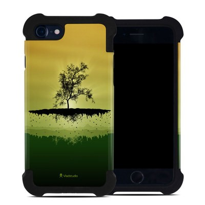 Apple iPhone 7 Bumper Case - Flying Tree Amber