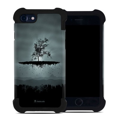 Apple iPhone 7 Bumper Case - Flying Tree Black