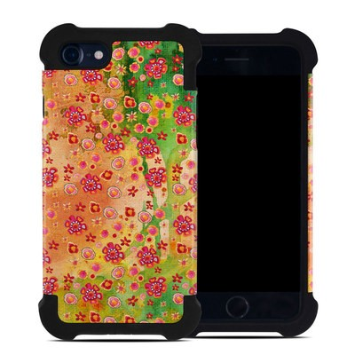 Apple iPhone 7 Bumper Case - Garden Flowers
