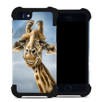 Apple iPhone 7 Bumper Case - Giraffe Totem