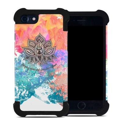 Apple iPhone 7 Bumper Case - Happy Lotus