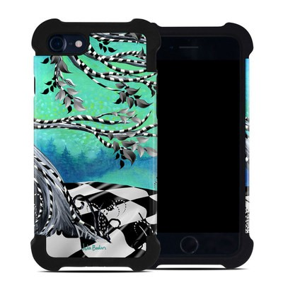 Apple iPhone 7 Bumper Case - Haunted Tree