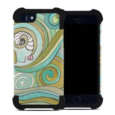 Apple iPhone 7 Bumper Case - Honeydew Ocean