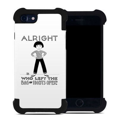 Apple iPhone 7 Bumper Case - Bag of Idiots