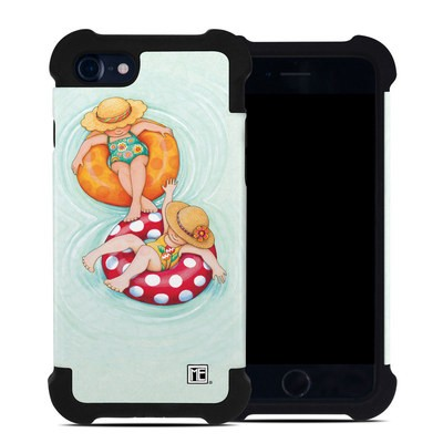 Apple iPhone 7 Bumper Case - Inner Tube Girls