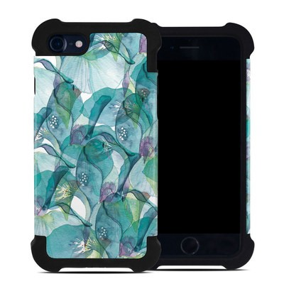 Apple iPhone 7 Bumper Case - Iris Petals