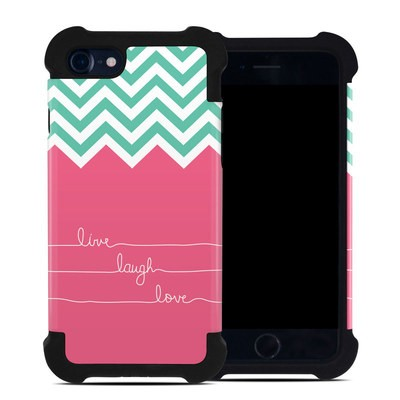 Apple iPhone 7 Bumper Case - Live Laugh Love