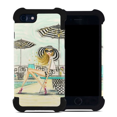 Apple iPhone 7 Bumper Case - Luxe Retreat Poolside