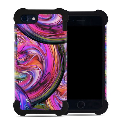 Apple iPhone 7 Bumper Case - Marbles