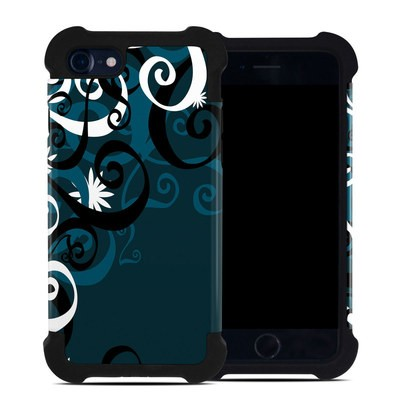Apple iPhone 7 Bumper Case - Midnight Garden