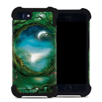 Apple iPhone 7 Bumper Case - Moon Tree