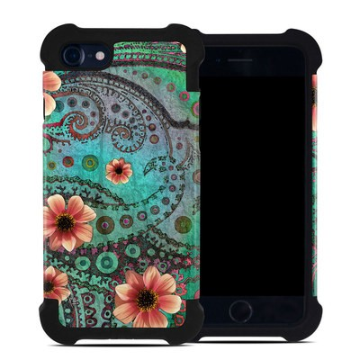 Apple iPhone 7 Bumper Case - Paisley Paradise