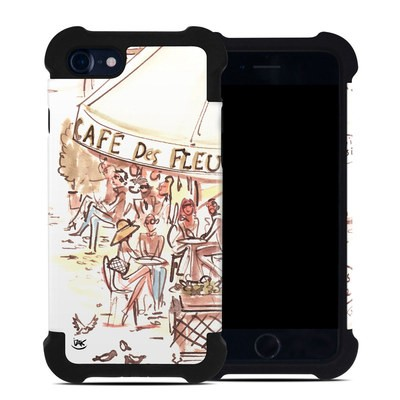 Apple iPhone 7 Bumper Case - Paris Makes Me Happy
