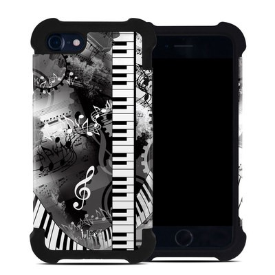 Apple iPhone 7 Bumper Case - Piano Pizazz