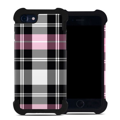 Apple iPhone 7 Bumper Case - Pink Plaid