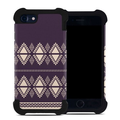 Apple iPhone 7 Bumper Case - Plum Cozy
