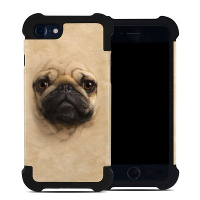 Apple iPhone 7 Bumper Case - Pug