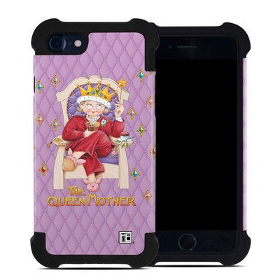 Apple iPhone 7 Bumper Case - Queen Mother