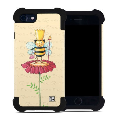 Apple iPhone 7 Bumper Case - Queen Bee