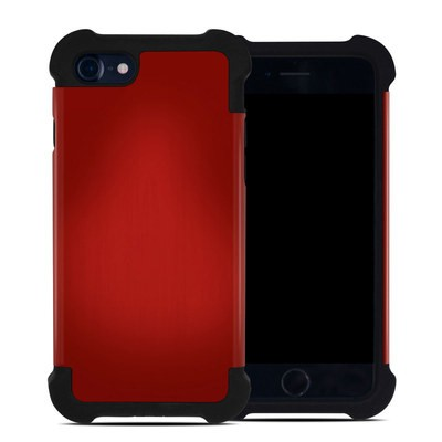 Apple iPhone 7 Bumper Case - Red Burst