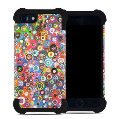 Apple iPhone 7 Bumper Case - Round and Round