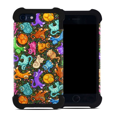 Apple iPhone 7 Bumper Case - Sew Catty