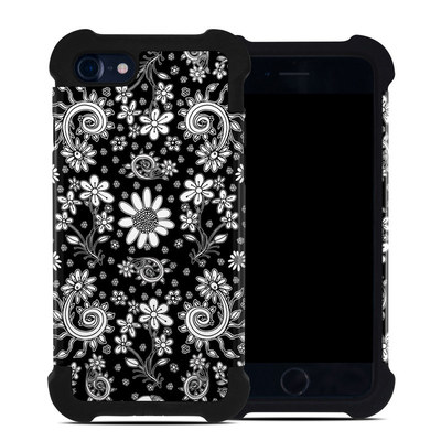 Apple iPhone 7 Bumper Case - Shaded Daisy