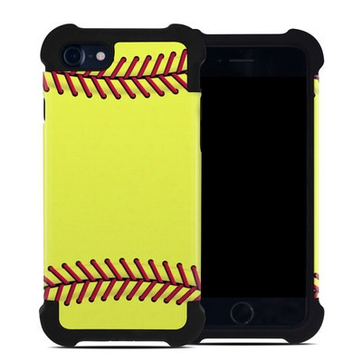 Apple iPhone 7 Bumper Case - Softball