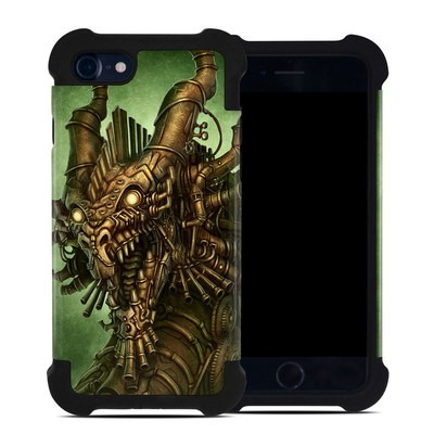 Apple iPhone 7 Bumper Case - Steampunk Dragon
